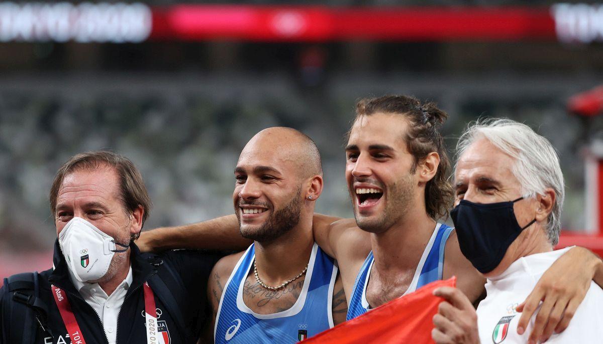Tamberi Brividi sul podio medaglia uno spettacolo